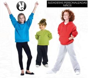 sudaderas personalizadas niños
